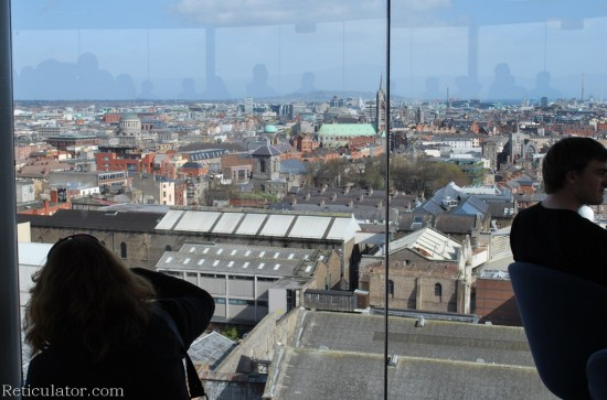 From the top of the Guinness Storehouse