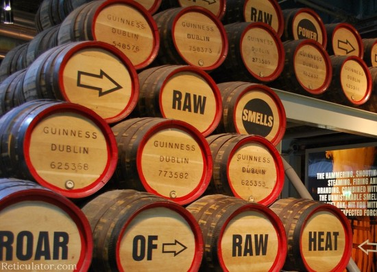 Inside the Guinness Storehouse